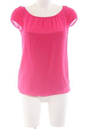 HUGO Hugo Boss Kurzarm-Bluse pink Business-Look