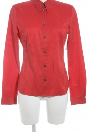 HUGO Hugo Boss Langarm-Bluse rot Business-Look