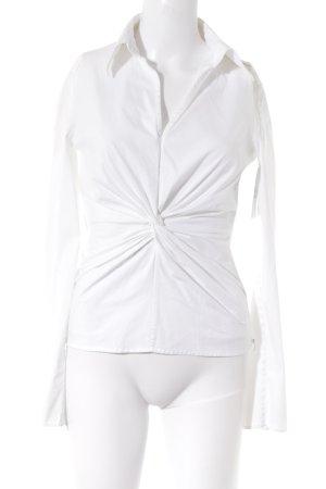 HUGO Hugo Boss Langarm-Bluse weiß Elegant