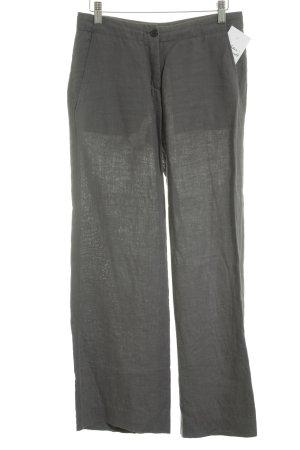 HUGO Hugo Boss Pantalone di lino antracite stile classico