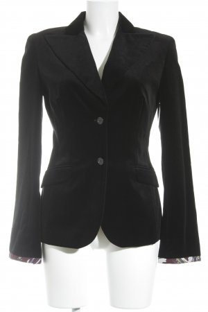 HUGO Hugo Boss Long-Blazer schwarz Business-Look