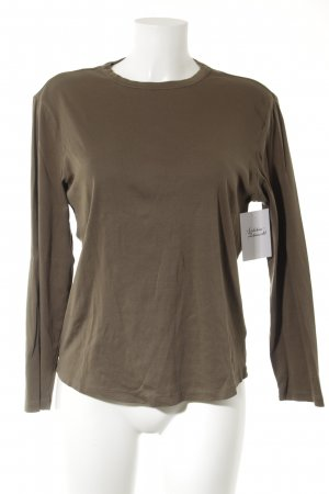 HUGO Hugo Boss Longsleeve khaki Casual-Look