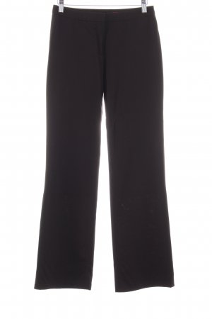 HUGO Hugo Boss Marlene Trousers dark brown casual look