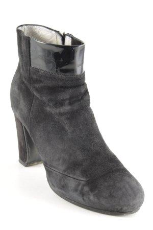 HUGO Hugo Boss Reißverschluss-Stiefeletten schwarz klassischer Stil