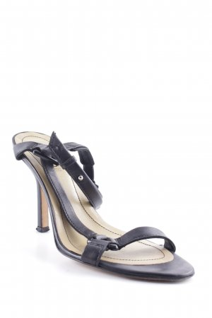 HUGO Hugo Boss Strapped High-Heeled Sandals black elegant