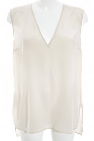 HUGO Hugo Boss Seidenbluse creme Business-Look