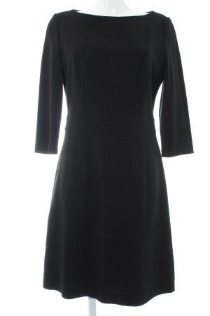 HUGO Hugo Boss Vestido de tela de sudadera negro
