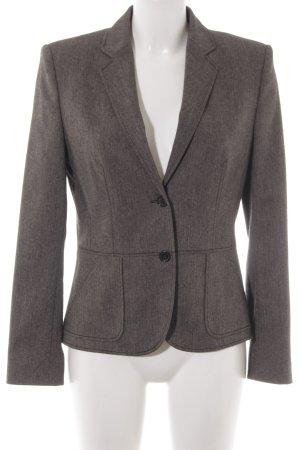 HUGO Hugo Boss Blazer in tweed nero-marrone-grigio spina di pesce