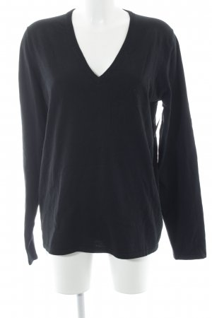 HUGO Hugo Boss V-Neck Sweater black casual look