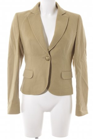 HUGO Hugo Boss Woll-Blazer sandbraun Business-Look