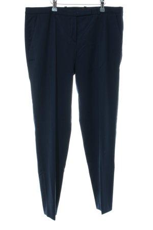 HUGO Hugo Boss Wollen broek blauw zakelijke stijl