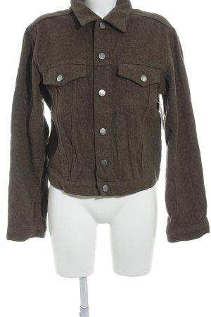HUGO Hugo Boss Giacca di lana marrone-grigio stile classico