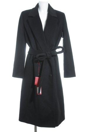HUGO Hugo Boss Cappotto in lana nero stile casual