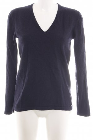 HUGO Hugo Boss Wollpullover lila Casual-Look