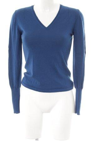 HUGO Hugo Boss Maglione di lana blu stile casual
