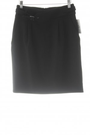 HUGO Hugo Boss Wool Skirt black business style