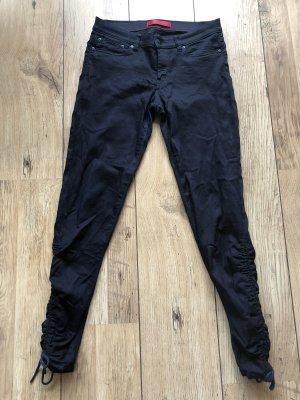 HUGO Hugo Boss Low Rise Jeans dark blue