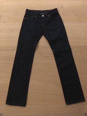 HUGO Jeans gerades Bein dunkelblau