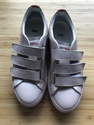 HUGO Hugo Boss Sneaker con strappi bianco-rosa antico
