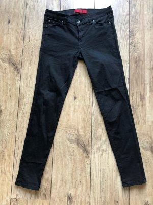 HUGO Hugo Boss Low Rise Jeans black