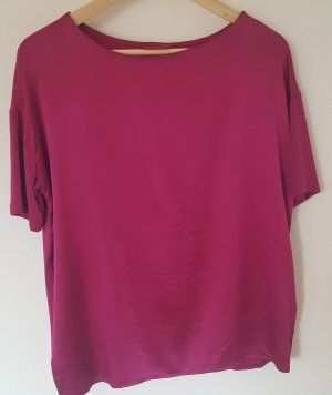 HUGO Seiden Bluse Top in Gr. XS 34 pink