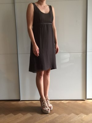 Hugo Boss Empire Dress dark brown silk