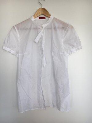 Hugo weiße Kurzarm Bluse