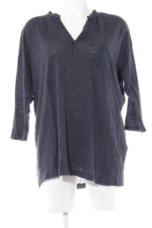 Humanoid Oversized Shirt petrol-dunkelblau Casual-Look