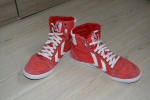 Hummel Damen, Hohe Sneakers, rot