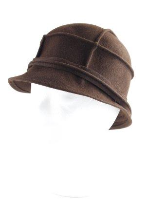 Hummel Cloche Hat brown elegant