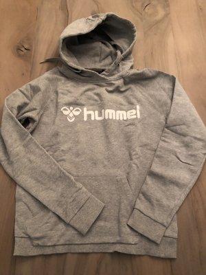 Hummel Hooded Sweater light grey-white
