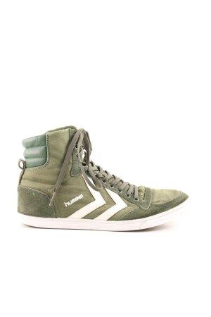 Hummel High Top Sneaker Schriftzug gedruckt Casual-Look