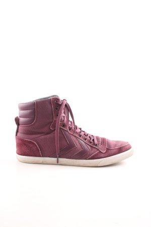 Hummel High Top Sneaker pink sportlicher Stil