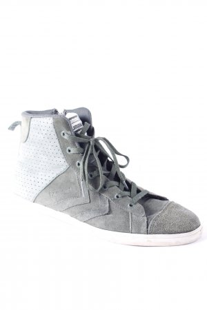 Hummel High Top Sneaker grüngrau Casual-Look
