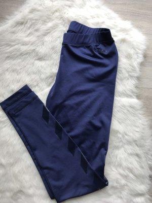 Hummel Leggings blu scuro-blu