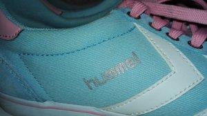 Hummel Schuhe Blau-Rosa