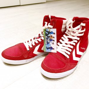 Hummel Slimmer Stadil High Rot High Top Sneaker
