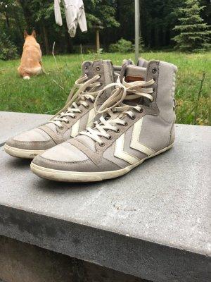 Hummel Sneaker grau umd weiß