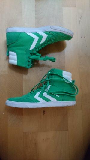 Hummel sneaker grün high