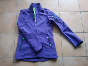 Hummel Softshell Jacket violet polyester