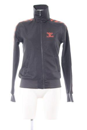 Hummel Sports Jacket light grey-light orange casual look