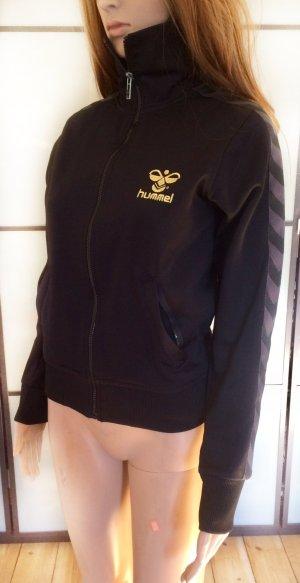 Hummel Veste de sport noir-doré polyester