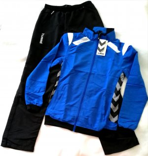Hummel Giacca sport nero-blu