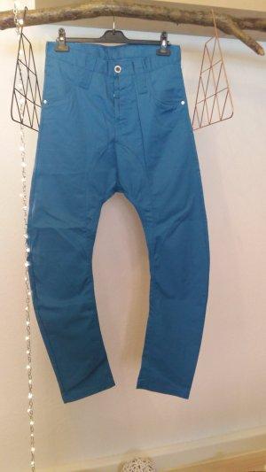 Humör Pantalone boyfriend blu-blu acciaio