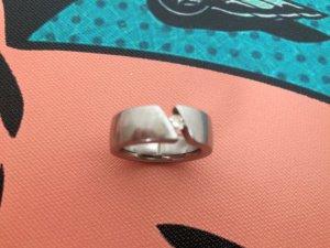 Humphrey Brilliant Ring 0,11 Karat 3,5 mm Edelstahl Brilliant NPR 799