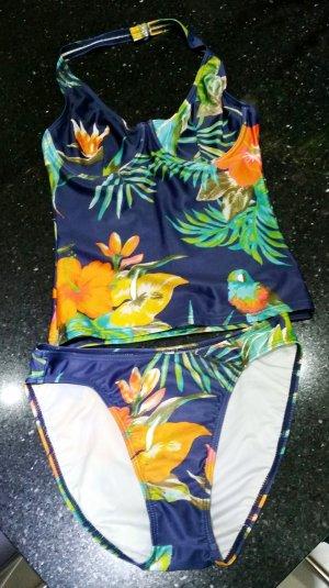 Hunkemöller Beachwear Bikini Tankini 38 bunt neu