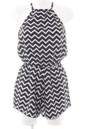 Hunkemöller Combinaison noir-blanc motif en zigzag Look de plage