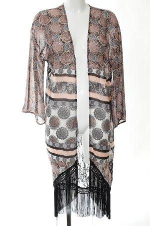 Hunkemöller Kimono Patroon-mengeling casual uitstraling