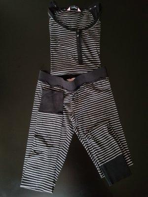 Hunkemöller Pijama blanco-negro