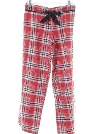 Hunkemöller Pyjama Karomuster klassischer Stil